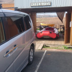 ボートをふきふきエアもれチェック